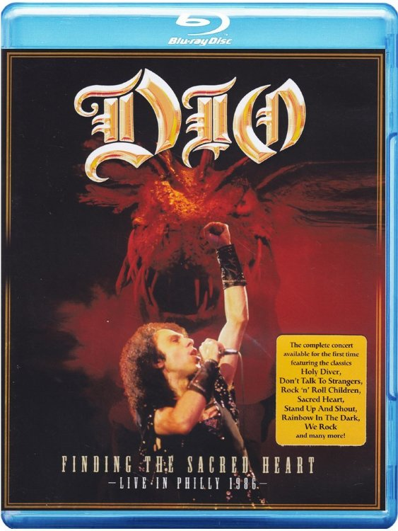 Dio Finding the Sacred Heart Live in Philly 1986 (Blu-ray)*