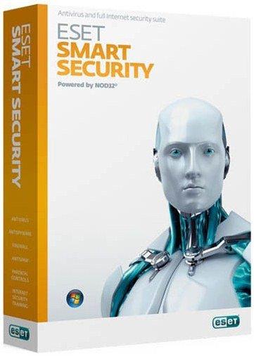 ESET NOD32 Smart Security 5 на 3 ПК Лицензия на 1 год (или продление на 20 месяцев)