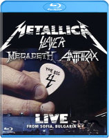 Metallica The big 4 (Metallica / Megadeth / Anthrax / Slayer) Luve from Sofia (Blu-ray)