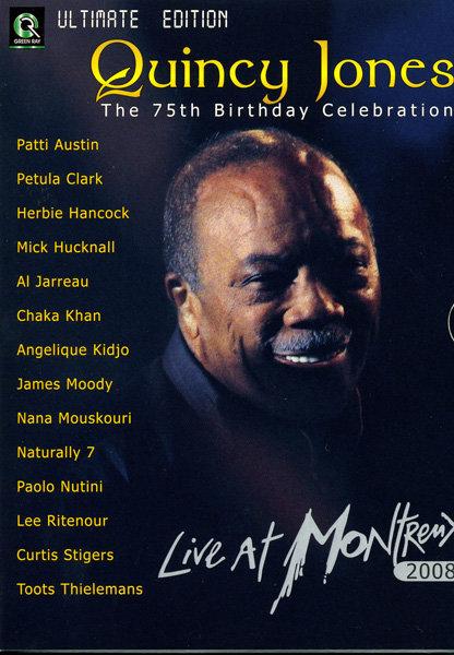 Quincy Jones: The 75th Birthday Celebration - Live At Montreux 2008 (2 DVD) на DVD