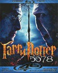 Гарри Поттер 5,6,7,8 (4 Blu-ray) на Blu-ray