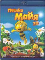 Пчелка Майя 3D+2D (Blu-ray)
