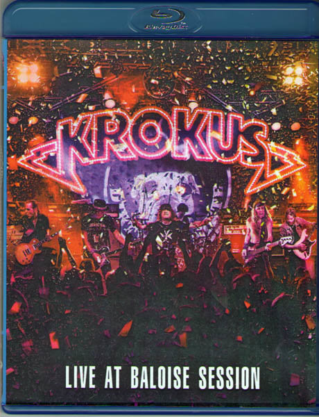Krokus Live At Baloise Session (Blu-ray) на Blu-ray