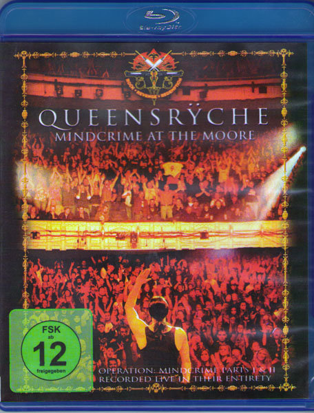 Queensryche Mindcrime At The Moore (Blu-ray)* на Blu-ray