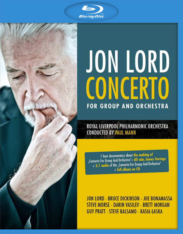 Jon Lord Concerto for Group and Orchestra (Blu-ray)* на Blu-ray