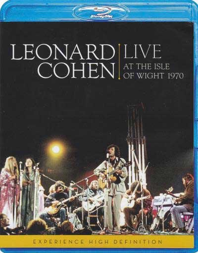 Leonard Cohen Live at the isle of wight 1970 (Blu-ray)* на Blu-ray