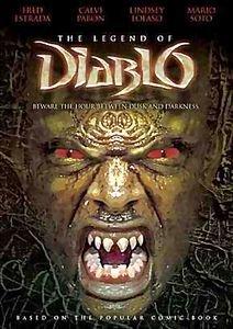 Легенда о дьябло  на DVD