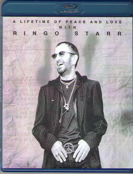 Ringo Starr A Lifetime of Peace and Love (Blu-ray) на Blu-ray