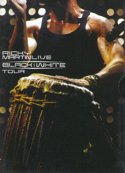 Ricky Martin Live Black and White Tour  на DVD