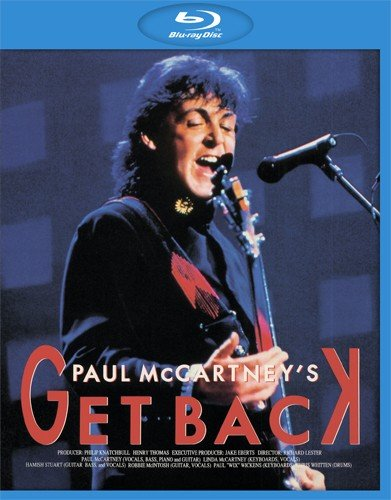 Paul McCartneys Get Back Live (Blu-ray)* на Blu-ray