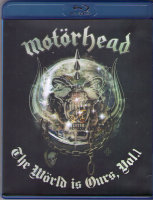 Motorhead The World Is Ours Vol 1 Anyplace Crazy as Anywhere Else (Blu-ray)*