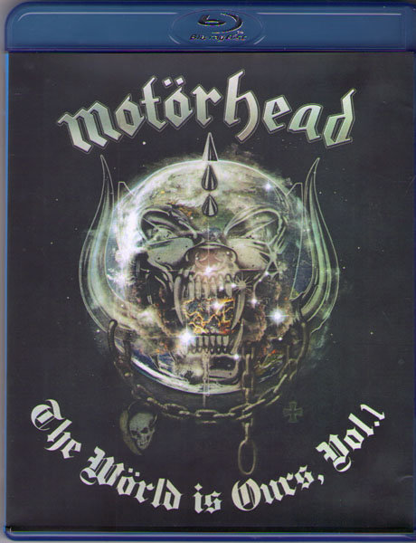 Motorhead The World Is Ours Vol 1 Anyplace Crazy as Anywhere Else (Blu-ray)* на Blu-ray