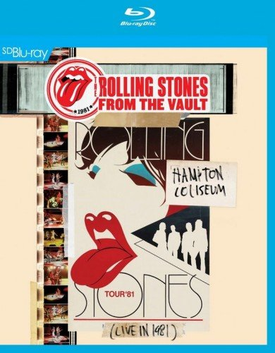 The Rolling Stones From the Vault Hampton Coliseum Live in 1981 (Blu-ray)