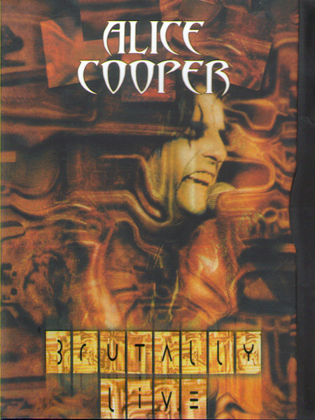 Alice Cooper Brutally Live на DVD