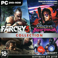 Far Cry 3 + Far Cry 3 Blood Dragon Collection (PC DVD)