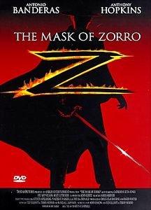 Маска Зорро на DVD
