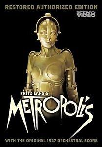 Метрополис  на DVD
