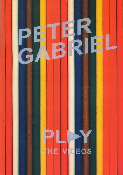 Peter Gabriel Play the videos на DVD