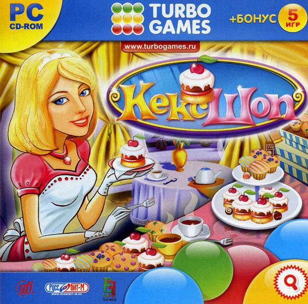 Turbo Games  Кекс Шоп (PC CD)