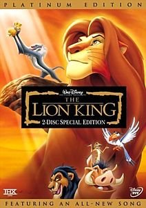 Король Лев 3 Хакуна Матата  на DVD