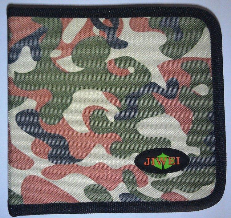 Портмоне VS на 40 дисков ткань камуфляж