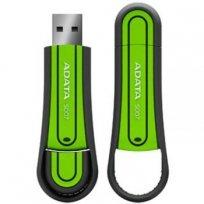Флеш-карта Flash Drive 8GB MB USB 2.0 A-Data S007 Green резиновая