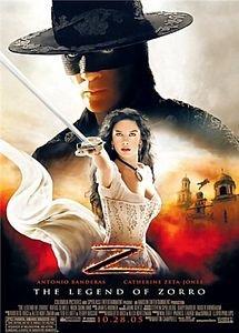 Легенда Зорро  на DVD
