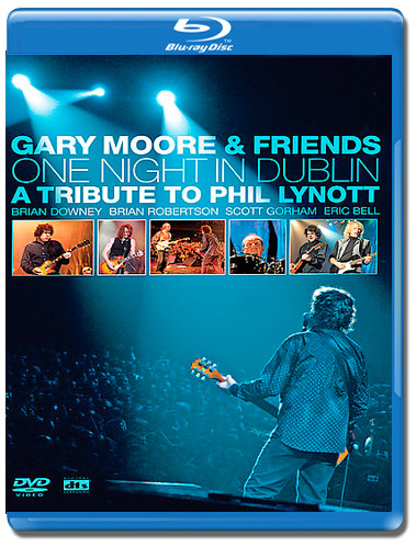 Gary Moore and friends One night in Dublin A tribute to Phil Lynott (Blu-ray)*