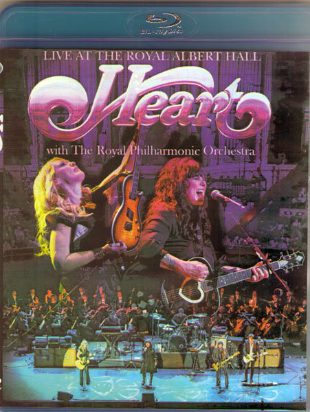 Heart Live at The Royal Albert Hall with The Royal Philharmonic Orchestra (Blu-ray)*