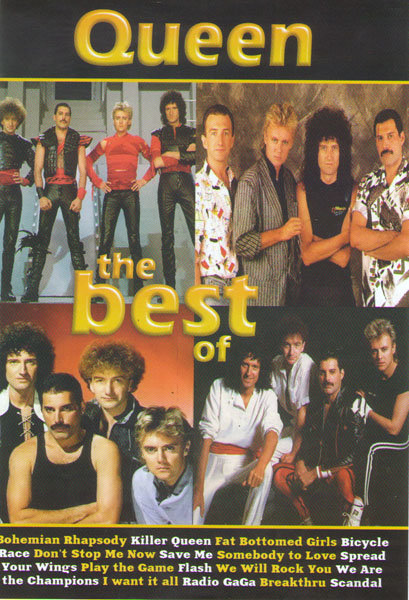 Queen The best of на DVD