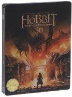 Хоббит Битва пяти воинств 3D+2D (4 Blu-ray)