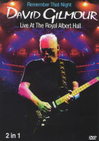 David Gilmour (Remember That Night / Live from the Royal Albert Hall) (2 DVD)