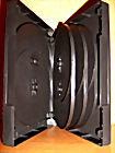 Коробка для DVD-диска на 4 шт (черная)