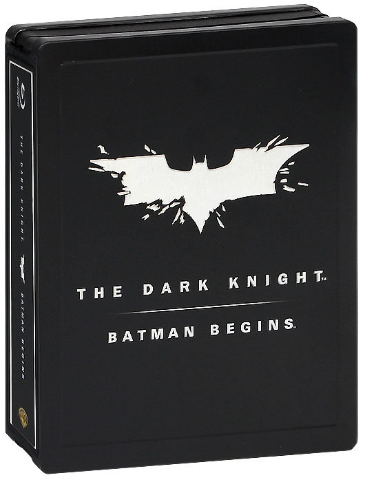 Бэтмен Начало / Темный рыцарь (3 Blu-ray) на Blu-ray