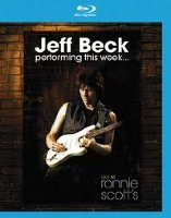 Jeff Beck Performing this week Live at Ronnie Scotts Jazz Club (Blu-ray)*
