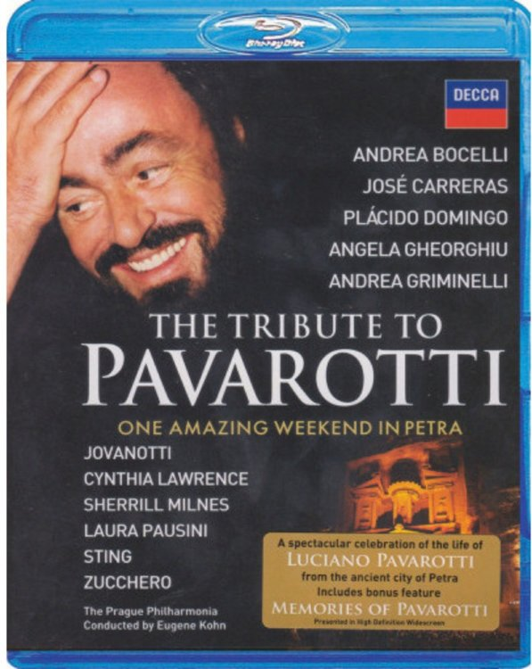 The Tribute To Pavarotti One Amazing Weekend In Petra (Blu-ray)* на Blu-ray