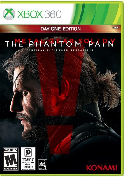 Metal Gear Solid V The Phantom Pain (2 Xbox 360)