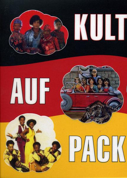 KULT AUF PACK  Boney M/Eruption/Dschinghis Khan (3 dvd) на DVD
