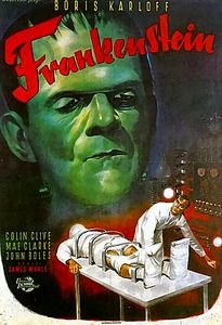 Франкенштейн (Джеймс Уэйл) на DVD