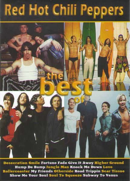 Red Hot Chili Peppers The best of (Клипы / Концерт на стадионе в Польше 2007) на DVD