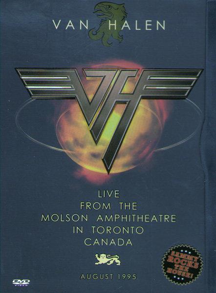 Van Halen Live in Toronto 1995 на DVD