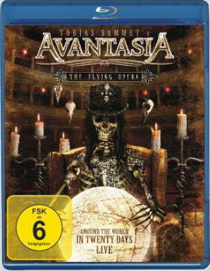 Avantasia The Flying Opera Around The World In 20 Days (Blu-ray)* на Blu-ray