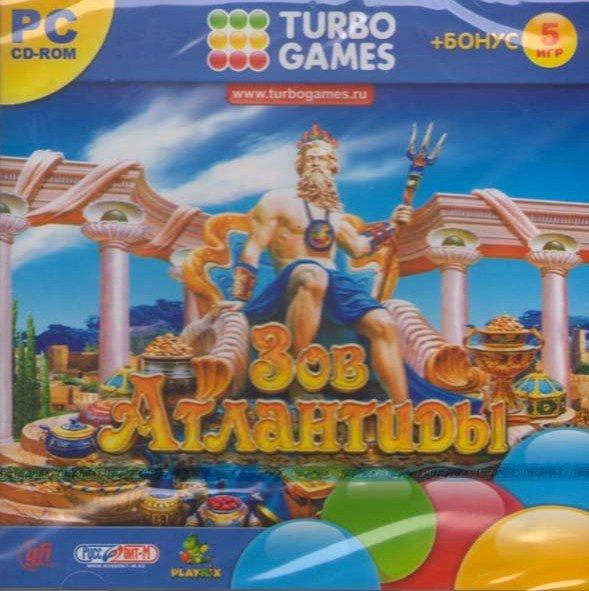 Turbo Games Зов Атлантиды (PC CD)