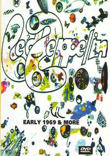 Led Zeppelin Early 1969 & More на DVD