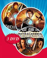 Пираты Карибского моря Трилогия / Властелин колец Трилогия / Гарри Поттер (Позитив-мультимедиа) (11 DVD)