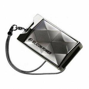 Флеш-карта Flash Drive 16GB USB 2.0 Silicon Power Touch 850 Titanium