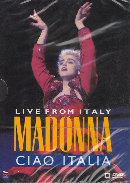 Madonna Ciao Italia Live from Italy на DVD