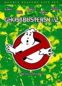 Охотники за привидениями 1,2 на DVD