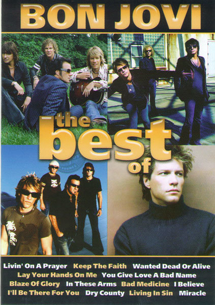 Bon Jovi The best of (This Left Feels Right Live / Live) на DVD