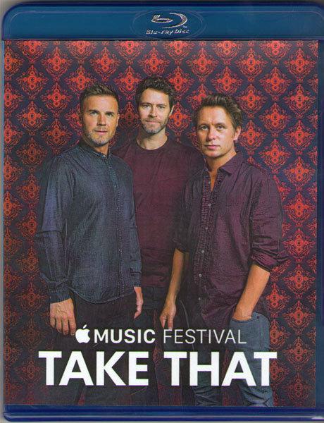 Take That Apple Music Festival London (Blu-ray) на Blu-ray